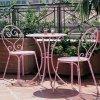 Thiết kế, gia công công bàn ghế sắt mỹ thuật sang trọng