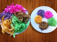Bật mí cách làm mứt dừa ngũ sắc lên màu đẹp tươi không cần dùng phẩm màu