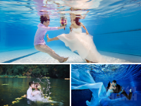 Bạn muốn thử phong cách mới - chụp ảnh cưới dưới nước?