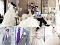 Bí quyết chọn áo cưới phù hợp khi chụp hình tại studio
