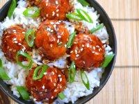 Tăng chiều cao vượt trội với món thịt viên sốt Teriyaki