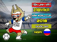 World Cup 2018 linh vật - World Cup 2018 Mascot