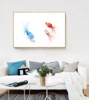 Biến hóa ấn tượng cùng tranh đẹp treo phòng khách