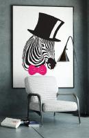 Táo bạo với lối thiết kế tranh nghệ thuật treo phòng khách