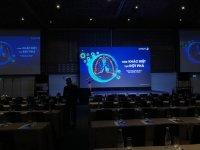 Giá màn hình Led sân khấu - màn hình Led hội trường, hội nghị, phòng họp