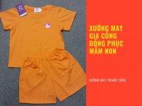 Báo giá may quần áo đồng phục mầm non từ xưởng tại TPHCM