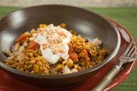 Làm món cà ri hạt điều đậu lăng sốt yaourt lạ miệng