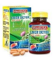MediUSA Liver Detox Anti - Aging hỗ trợ tăng cường sức đề kháng cho cơ thể