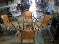 Kinh nghiệm chọn mua bàn ghế giả mây thanh lý