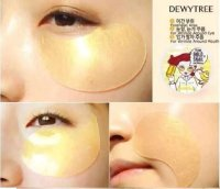 Review mặt nạ mắt DewyTree Prime Gold Snail Eye Patch