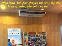 Nhận thi công máy lạnh áp trần Toshiba chuyên nghiệp - Lắp đặt giá trọn gói giá rẻ