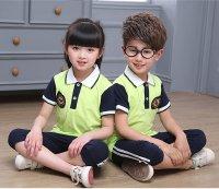 Mẫu đồng phục thể dục học sinh chuẩn bị cho ngày hội thể thao mầm non