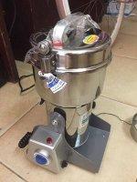 Kinh doanh máy xay thuốc bắc 800g - Dòng máy chất lượng, đạt chuẩn quốc tế