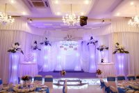 Hướng dẫn bố trí đèn trùm trang trí tiệc cưới một cách khoa học