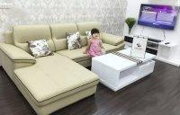 Mua ghế sofa gỗ hay ghế sofa nệm cho phòng khách gia đình?