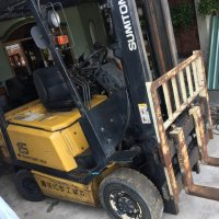 Đánh giá xe nâng điện Sumitono 1.5 tấn 61FBR15SDE