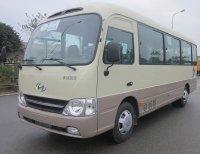 Đánh giá nhanh Hyundai County Đồng Vàng 29 chỗ