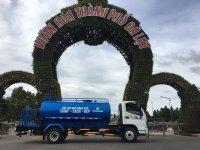 Thông số kỹ thuật xe téc phun nước tưới cây rửa đường 7 khối Ollin 700c