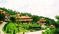 Mắt chữ O mồm chữ A với Thiền Viện Đẹp Nhất Việt Nam