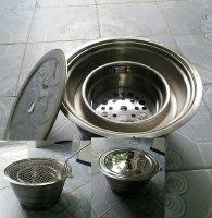 Sốc với 4 mẫu bếp nướng than âm bàn không khói đang được các nhà hàng, quán nướng săn tìm