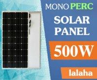 Tấm pin Solar LaLaHa 500W Mono PERC
