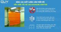 Nâng cao chất lượng sản phẩm với cửa cuốn tốc độ cao Excooline Shutter