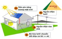 Giá lắp đặt điện mặt trời hòa lưới
