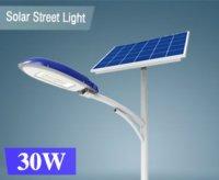 Giới thiệu đèn đường dùng năng lượng mặt trời STA-30W