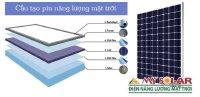Tấm pin năng lượng mặt trời gồm những thành phần nào?