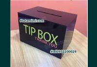 Hộp BOXTIP bằng chất liệu mica trong giá rẻ