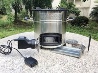 Bếp đun viên nén BSR-SSM001 Bếp đun mini Bếp đun dã ngoại cắm trại picnic LH:0962537439