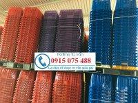 Sọt nhựa công nghiệp giá rẻ - rổ nhựa công nghiệp giá rẻ