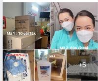 Khẩu trang, khẩu trang 3M, Hàn Quốc, nước rửa tay mua ở đâu?