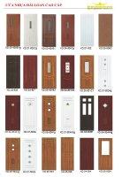 Tổng hợp những mẫu cửa nhựa giả gỗ 2020