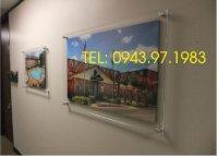 Sử dụng khung tranh mica cao cấp để trang trí nội thất trong gia đình