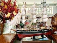 Thuyền buồm mô hình - Món quà cho những dân chơi tinh tế, độc lạ