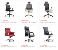 Mẫu ghế xoay văn phòng dành cho nhân viên hiện đại TPHCM
