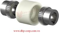 Khớp nối Bowex, Khớp nối răng vỏ nhựa Bowex Junior KTR - Nylon Sleeve Gear Couplings