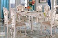 Bộ bàn ăn cổ điển - Địa chỉ xưởng tin cậy đặt mua bàn ăn 10 ghế cổ điển