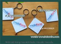 Sản xuất móc khóa làm in logo công ty