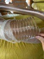 Ống nhựa mềm lõi thép từ Lưới Thép Hàn Uy Vũ