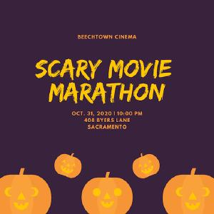 Mẫu thiệp mời Halloween Party