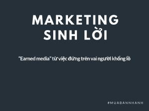 Marketing sinh lời là gì?
