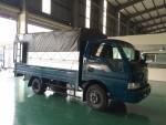 Xe tải  KIA 2,4 tấn, thùng kín mui bạt tại ThaCo An Lạc