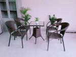 Cần lưu ý những gì trước khi chọn bàn ghế cafe ngoài trời?