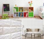 Xốp dán tường 3D chống nóng, chống ồn, chống ẩm mốc – Giải pháp cho tường nhà bong tróc.