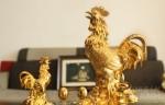 Tượng gà trống có mang may mắn cho gia chủ trong năm Đinh Dậu 2017?