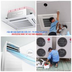 Đặc điểm chung của máy lạnh âm trần LG và máy lạnh tủ đứng LG hiện nay