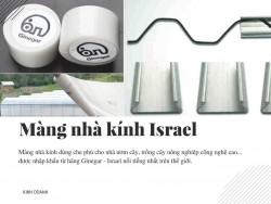 Nhà kính trong nông nghiệp công nghệ cao Israel