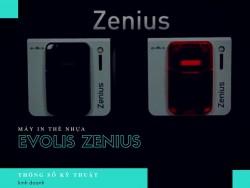Thông số của máy in thẻ nhựa Evolis Zenius